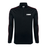 Nike Golf Dri Fit 1/2 Zip Black/Red Cover Up-NAVS