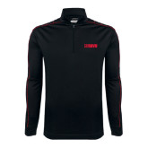 Nike Golf Dri Fit 1/2 Zip Black/Red Cover Up-NAVS Tone