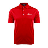 Red Dry Mesh Polo-The Navigators