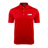 Red Dry Mesh Polo-NAVS