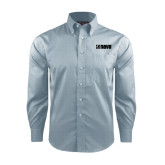 Red House Lt Blue Long Sleeve Shirt-NAVS