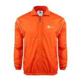 Colorblock Orange/White Wind Jacket-The Navigators