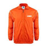 Colorblock Orange/White Wind Jacket-NAVS