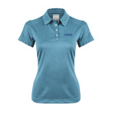 Ladies Nike Dri Fit Light Blue Pebble Texture Sport Shirt-NAVS Tone