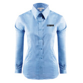 Ladies Red House Light Blue Long Sleeve Shirt-NAVS