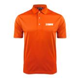 Orange Dry Mesh Polo-NAVS