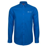 Red House French Blue Long Sleeve Shirt-Navigators