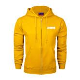 Champion Gold Fleece Full Zip Hood-NAVS