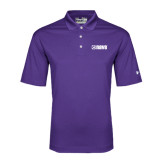 Under Armour Purple Performance Polo-NAVS Tone