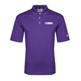 Under Armour Purple Performance Polo-NAVS Tone