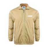Colorblock Vegas Gold/White Wind Jacket-NAVS
