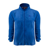 Fleece Full Zip Royal Jacket-The Navigators Tone