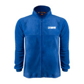 Fleece Full Zip Royal Jacket-NAVS