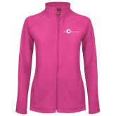 Ladies Fleece Full Zip Raspberry Jacket-The Navigators