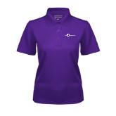 Ladies Purple Dry Mesh Polo-The Navigators