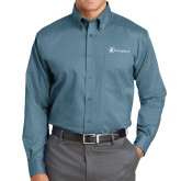 Red House Teal Long Sleeve Shirt-Navigators