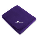 Purple Arctic Fleece Blanket-The Navigators