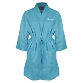 Aqua Waffle Kimono Robe-Navigators