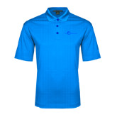 Light Blue Performance Fine Jacquard Polo-The Navigators Tone