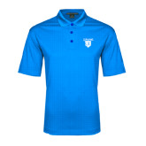 Light Blue Performance Fine Jacquard Polo-Glen Eyrie