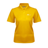 Ladies Gold Dry Mesh Polo-The Navigators