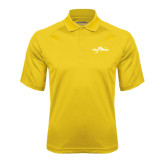 Gold Textured Saddle Shoulder Polo-Eagle Lake