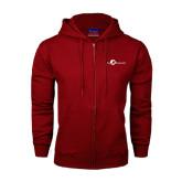 Champion Cardinal Fleece Full Zip Hood-The Navigators