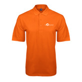Orange Easycare Pique Polo-The Navigators