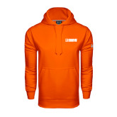 Under Armour Orange Performance Sweats Team Hoodie-NAVS