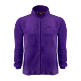 Fleece Full Zip Purple Jacket-The Navigators Tone