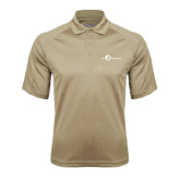 Vegas Gold Textured Saddle Shoulder Polo-The Navigators