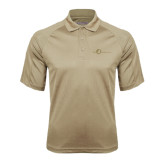 Vegas Gold Textured Saddle Shoulder Polo-The Navigators Tone