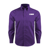 Red House Purple Long Sleeve Shirt-NAVS