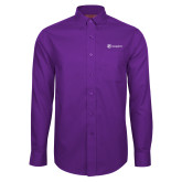 Red House Purple Long Sleeve Shirt-Navigators