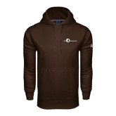 Under Armour Brown Performance Sweats Team Hoodie-The Navigators