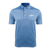 Light Blue Dry Mesh Polo-Eagle Lake