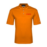 Nike Golf Dri Fit Orange Micro Pique Polo-NAVS Tone