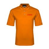 Nike Golf Dri Fit Orange Micro Pique Polo-NAVS Tone