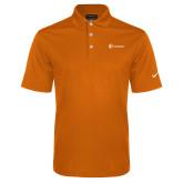 Nike Golf Dri Fit Orange Micro Pique Polo-Navigators