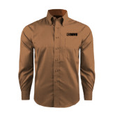 Red House Tan Long Sleeve Shirt-NAVS