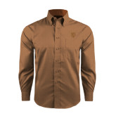 Red House Tan Long Sleeve Shirt-Glen Eyrie Tone