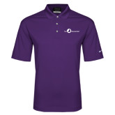 Nike Golf Dri Fit Purple Micro Pique Polo-The Navigators Tone