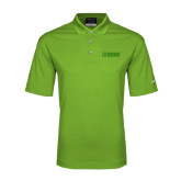Nike Golf Dri Fit Vibrant Green Micro Pique Polo-NAVS Tone