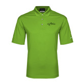Nike Golf Dri Fit Vibrant Green Micro Pique Polo-Eagle Lake Tone