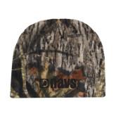 Mossy Oak Camo Fleece Beanie-NAVS