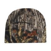 Mossy Oak Camo Fleece Beanie-Eagle Lake Tone