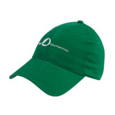 Kelly Green Twill Unstructured Low Profile Hat-The Navigators