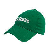 Kelly Green Twill Unstructured Low Profile Hat-NAVS