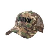 Camo Pro Style Mesh Back Structured Hat-NAVS