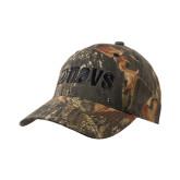 Mossy Oak Camo Structured Cap-NAVS